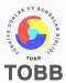 TOBB - Türkiye Odalar ve Borsalar Birliği