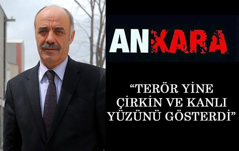ETSO Yönetim Kurulu Başkanı Yücelik Ankara Saldırısını Kınadı