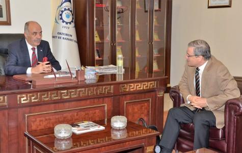AB Delegasyonu Başkan Yardımcısı'ndan ETSO'ya Ziyaret