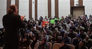 """Üniversiteli Gençlere, """"Erasmus Plus"""" Destekleri Anlatıldı"""