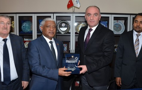 """ETSO'yu Ziyaret Eden Etiyopya Büyükelçisi Workneh; """"Türk Yatırımcısına Her Zaman Kapımız Açık"""""""