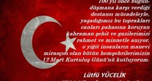 12 Mart Erzurum'un Kurtuluşunun 100.yıl dönümü