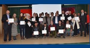 Başarılı kursiyerler girişimcilik sertifikalarını aldı