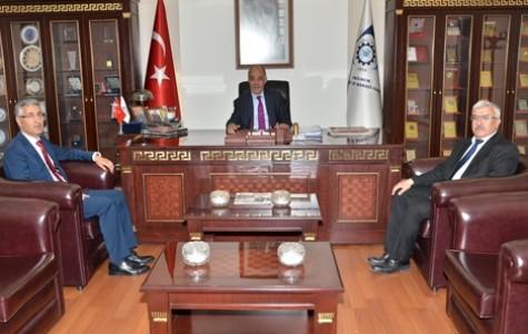 Başkan Yücelik'e tebrik ziyaretleri