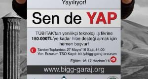Girişimcilik Erzurum'da Yayılıyor