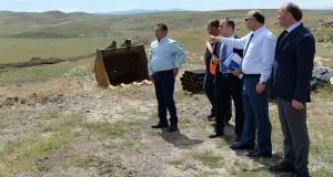 Vali Azizoğlu, 2. OSB Altyapı Çalışmalarını Denetledi