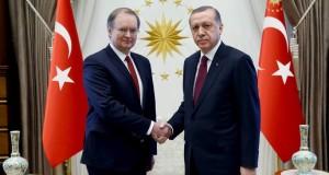 Yeni AB Büyükelçisi'ne Sıcak Bir Hoşgeldin…