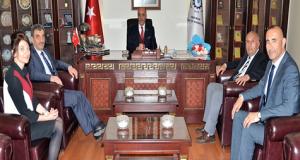 SGK Yöneticilerinden, Başkan Yücelik'e Ziyaret