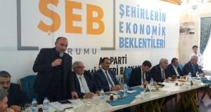 ETSO Meclis Başkanı Özakalın Erzurum'a Çekim Gücü Yatırım İstedi