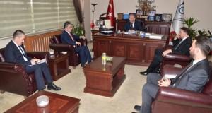 Yurdakul'dan ETSO Meclis Başkanı Özakalın'a ziyaret