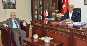 Rektör Yaylalı'dan ETSO'ya tebrik ziyareti