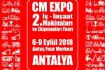 CM Expo İnşaat Makinaları ve Ekipmanları Fuarı