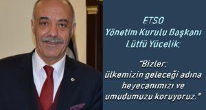 """ETSO'DAN ÜYELERİNE YENİ """"KOBİ DESTEK KREDİSİ"""""""