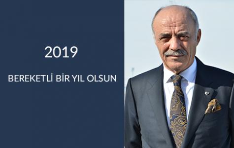 """ETSO BAŞKANI YÜCELİK'TEN YENİ YIL MESAJI """"2019 BEREKETLİ BİR YIL OLSUN"""""""