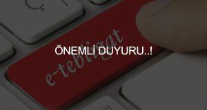 ÖNEMLİ DUYURU..!