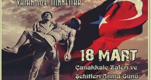 """""""ÇANAKKALE ZAFERİ, TÜRK'ÜN KAHRAMANLIK VE ŞEREF ABİDESİDİR"""""""