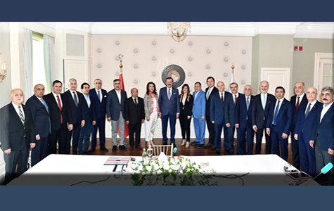 ETSO BAŞKANI YÜCELİK, TOBB GİK TOPLANTISINA KATILDI