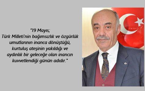 """ETSO BAŞKANI YÜCELİK'TEN 19 MAYIS MESAJI; """"GENÇLİK, ÜLKEMİZİN DİNAMİZMİ VE BİTMEYEN ENERJİSİDİR"""""""