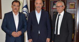 ESAV BAŞKANI AKSUNGUR'DAN ETSO BAŞKANI YÜCELİK'E ZİYARET