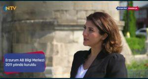 AB Bilgi Merkezi Koordinatörü Elifnur TerzioğluErzurum'dan Sevilla'ya… (Avrupa'dan Anadolu'ya) Programına Konuk Olan